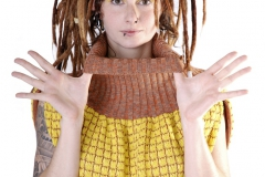 "Pulloverkleid/Rock ""Ananas""_maria stieger"